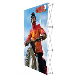 5 ft. RPL Fabric Pop Up Display – 7.5'h Straight Graphic Package (No Endcaps)
