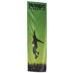 Mondo Flagpole 17 Ft. – Single-Sided (Printed Banner Only)