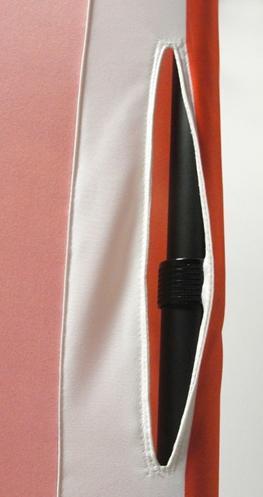 4 ft. Mini-Slider Banner Stand – 4'h Fabric Graphic