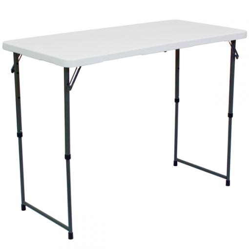 4′ Showgoer Demo Adjustable Table