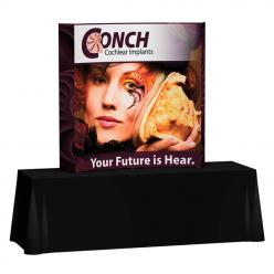 Splash 6′ Curve Tabletop – Wrap Graphic Display