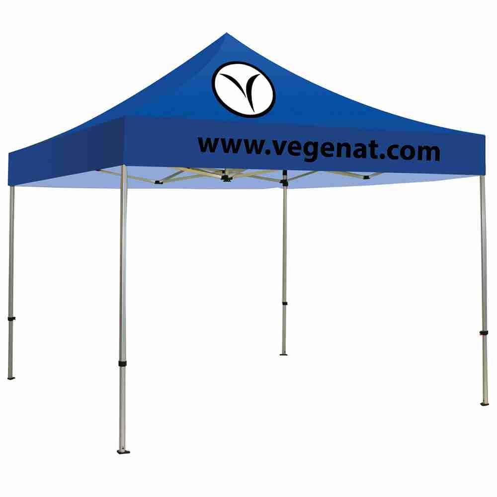 10ft casita canopy tent blue 2 color logo