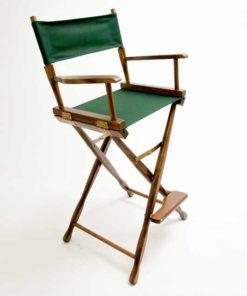 Gold Medal Directors Chair – Classic Walnut 30″ Hunter Canvas