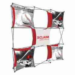 Xclaim Fabric Popup Displays