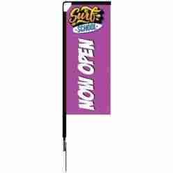 Medium 7ft Mamba Flag Spike Base Package