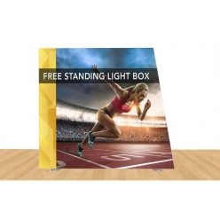 Angled Freestanding Light Box 108″ X 96