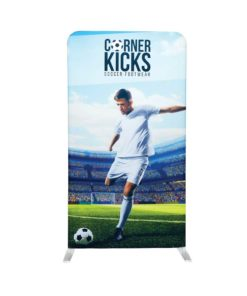 EZ Stand 4 Ft X 7.5 Ft Single Sided Graphic Black Back