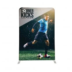 EZ Stand 5 Ft X 7.5 Ft Single Sided Graphic White Back