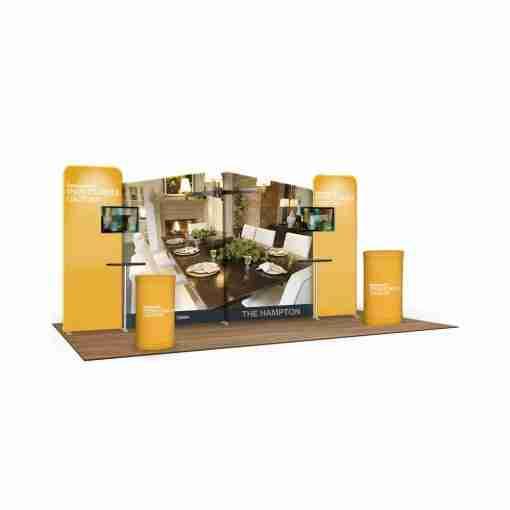 Wave Tube Modular Booth Kit A2C4C4A2