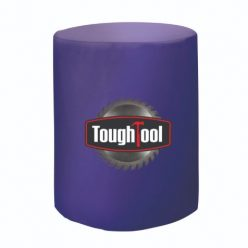 Full Color Front Imprint – Fitted Round Table Cover – Bar Height