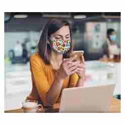 Designer Cloth Masks Stock Patterns – Packs of 3